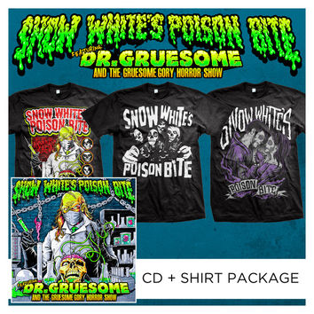 Snow White's Poison Bite - Featuring Dr. Gruesome And The Gruesome Gory Horror Show Package