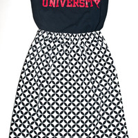 Texas Tech Game Day 'Dress' (Top and Skirt) sorority dress, red raiders dress