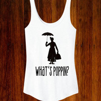 Disney Mary Poppins Inspired Women's Tank Disney World Land Vacation Tank Supercalifragilisticexpialidocious