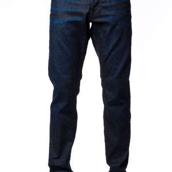 G-Star 3301 Tapered Dark Aged Visor Stretch Denim