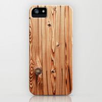 Kyoto Wood iPhone & iPod Case by simon oxley idokungfoo.com