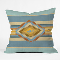 Bianca Green Fiesta Vintage Throw Pillow