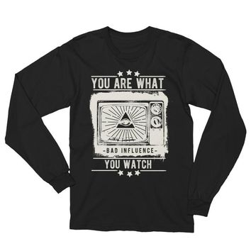 you are what you watch bad influence T-shirt