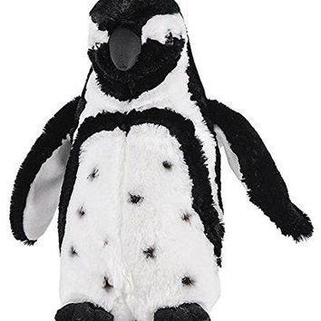 "Wildlife Tree 12"" Black-Footed Penguin Stuffed Animal Plush Floppy Zoo Animal Den Collection"
