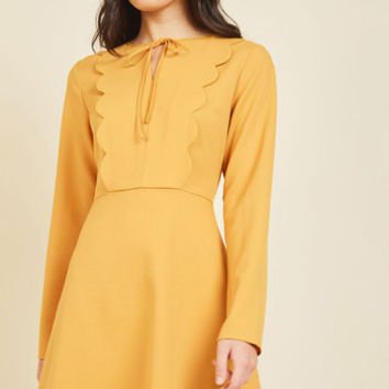 Hit the Book Sale A-Line Dress | Mod Retro Vintage Dresses | ModCloth.com