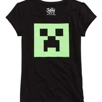 Minecraft Creeper Graphic Tee | Girls Graphic Tees Clothes | Shop Justice