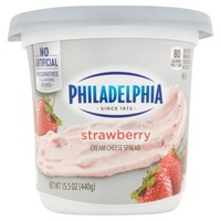 Philadelphia Strawberry Cream Cheese Spread, 15.5 oz - Walmart.com