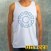 Arc Reactor Iron Man Clothing Tank Top For Mens