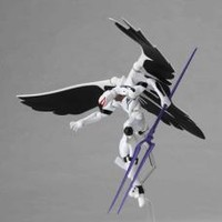 Revoltech: Evangelion 2.0 - Mass Production Action Figure (White) (Yamaguchi) | Anime Pavilion Anime Pavilion - CDs, DVDs, Graphic Novels, Cards, Cells, Patches, Posters, Plush, and More!