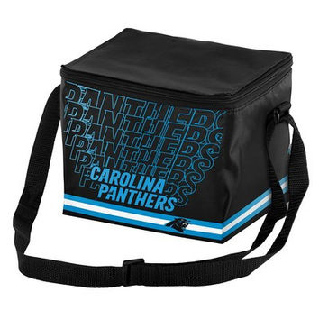 Carolina Panthers Official NFL Impact 6-pack Cooler