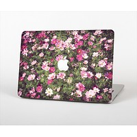 The Vintage Pink Floral Field Skin Set for the Apple MacBook Air 11""