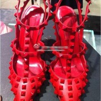 Women's Rock Star Spike Heels