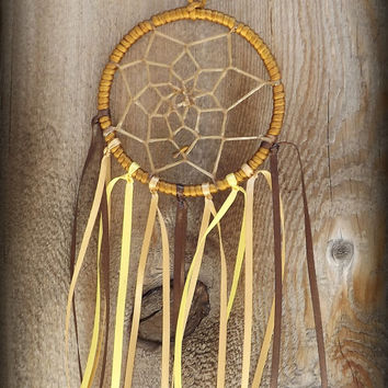 Handmade, Dream Catcher, Rear View Mirror Dream Catcher, Trippy Serendipity, Trippyserendipity, mini dream catcher, small dream catcher