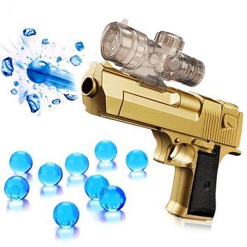 Water absorbing bullet electric repeating water gun toy gun bullet range 11-13mm
