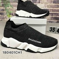 "Balenciaga ""Socks boots"" Woman Men Trending Breathable Sneakers Running Shoes B-CSXY"