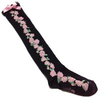 Lady Rose OTKs in Black from Angelic Pretty