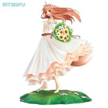 24cm Japanese Amine Spice And Wolf Lovey Horo Pvc For Kids Children Gift Action Anime Figure Toy Figures Collectible Figurines