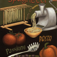 Spaghetti Poster by Daphne Brissonnet at AllPosters.com