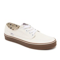 Vans Brigata Canvas Shoes - Mens Shoes - White/Gum