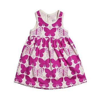 Winter Water Factory Butterfly Tank Dress