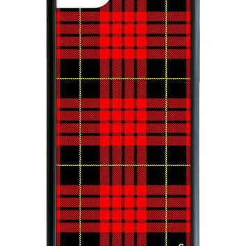 Red Plaid iPhone 6/7/8 Case