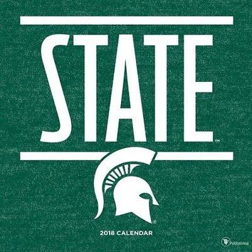 Michigan State University Wall Calendar, Michigan State Spartans by TF