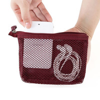 Monopoly Travel mesh small zipper pouch ver.2