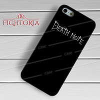 Death  Note  Book - zAzA for  iPhone 6S case, iPhone 5s case, iPhone 6 case, iPhone 4S, Samsung S6 Edge