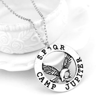 MQCHUN Hot Movie Percy Jackson Camp Half Blood Fly Horse Necklace & Pendant Fan Gift Movies Jewelry Necklace -30