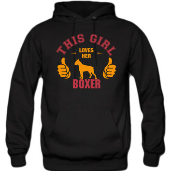 this-girl-loves-her-boxer-t-shirt-design hoodie