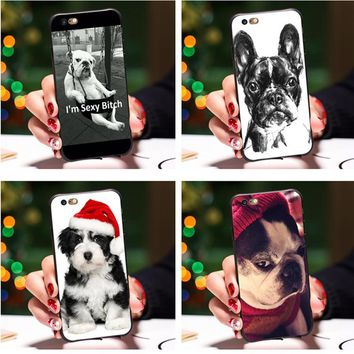 Smmnas IM sexy bitch case For iPhone 8 iPhone X 7 Plus 6 6S Plus 5S Case French Bulldog Phone Cases For iPhone 8 7 6S 6 Plus 5S