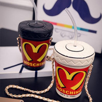 On Sale Coffee Drinks Cute Hot Sale Hot Deal Summer One Shoulder Bags Chain Lovely Cup [6582448839]