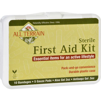 All Terrain First Aid Kit - 17 Pieces