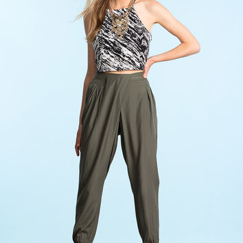 Criss Cross Slouchy Pants