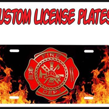 PERSONALIZED AND CUSTOM LICENSE PLATES