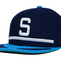 Seattle Pilots MLB The Big Stage 9FIFTY Snapback Cap
