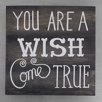 You Are A Wish Come True Sentiment Art | Pottery Barn Kids