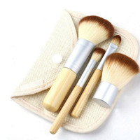 4 Style Convenient Makeup Brushes Set Gift