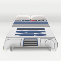 Star Wars - R2D2  Duvet Cover by Adrian Mentus