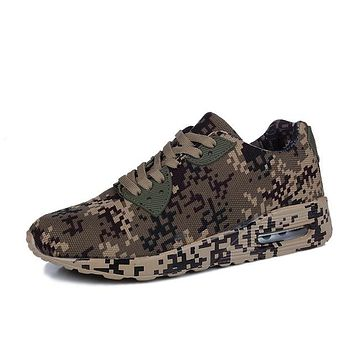 New 2017 Casual Shoes Canvas Camouflage/Digital Camo,