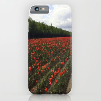 Simply Red iPhone & iPod Case by Casey J. Newman