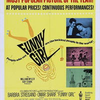 Funny Girl 11x17 Movie Poster (1969)
