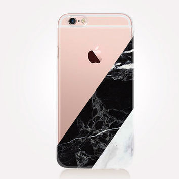 Transparent Marble iPhone Case - Transparent Case - Clear Case - Transparent iPhone 6 - Transparent iPhone 5 - Transparent iPhone 4