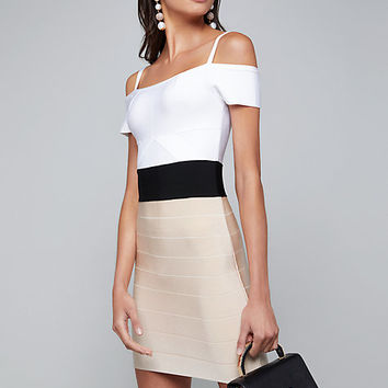 ALISA COLORBLOCK DRESS