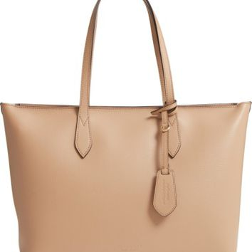 Burberry Calfskin Leather Tote | Nordstrom