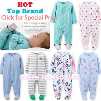 Baby girl clothes jumpsuit coveralls romper boy Christmas infant costume sleepwear & Pajamas vestido Designer baby climb