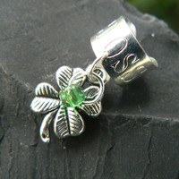 shamrock ear cuff lock 4 leaf clover shamrock lucky in gypsy boho hippie hipster and fantasy style