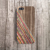 Geometric iPhone5 case stripe iPhone case silicone iPhone 4s case stripe iPhone 5s case wood iphone 4 case wood iphone 5 case Plastic iPhone