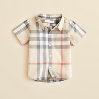 Burberry Infant Boys' Tyson Check Shirt - Sizes 3-18 Months