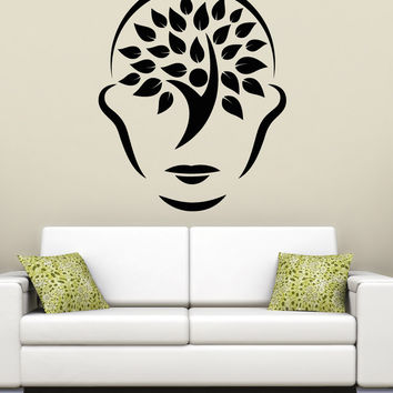 Vinyl Wall Decal Sticker Tree Face #5263